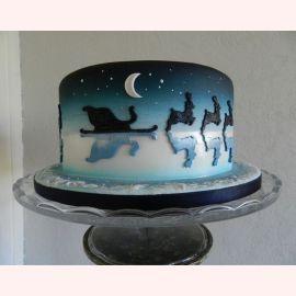 """Торт на Новый Год """"31 декабря"""""""