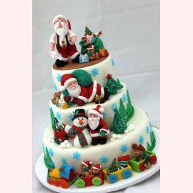 """Торт на Новый Год """"Santa Claus"""""""
