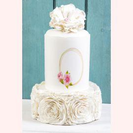 """Торт """"Цветочная нежность"""""""