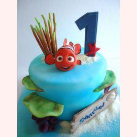 """Торт на 1 год """"NEMO!"""""""