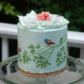 """Торт """"Рисунок природы"""""""