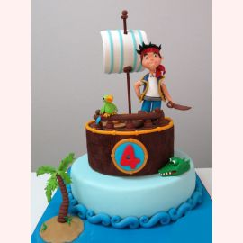 "Торт ""Jack and Neverland Pirates"""