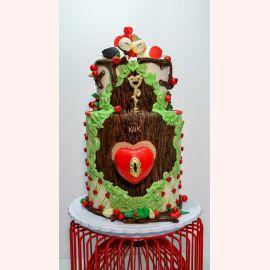 """Торт для влюбленных """"Ключ к сердцу..."""""""