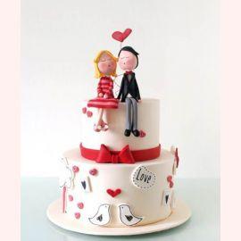 """Торт для влюбленных """"Любовное свидание"""""""