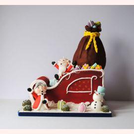 "Торт на Новый Год ""Бабушка Мороз"""
