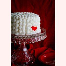 """Торт для влюбленных """"Сердечко в облачках"""""""