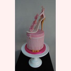 """Торт """"Красивая туфелька"""""""