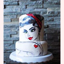 """Торт для влюбленных """"Знойная брю"""""""