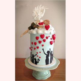 """Торт для влюбленных """"Доброе сердце"""""""