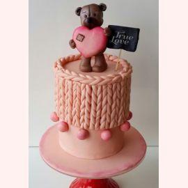 """Торт для влюбленных """"True LOVE"""""""