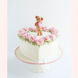 """Торт для влюбленных """"Ангел-мишуля"""""""