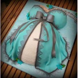 """Торт """"Счастье любой женщины- беременность"""""""