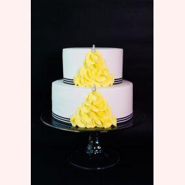 """Торт """"Желтые листья"""""""