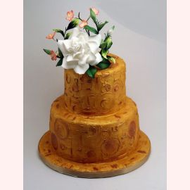 "Торт ""Кристально-белая азалия"""