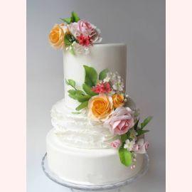 "Торт ""Оранжевая роза"""