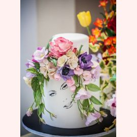 "Торт ""Красивое лицо"""