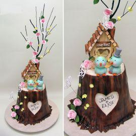 """Торт """"Молодая семья"""""""