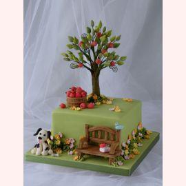 "Торт ""Яблоня в саду"""