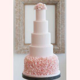 """Торт """"Розовый нежный цвет"""""""