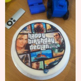 "Торт ""GTA. Happy Birthday"""