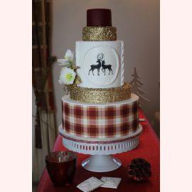 """Новогодний торт """"Роскошь на Новый год"""""""