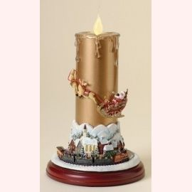 """Новогодний торт """"Новогодняя свеча"""""""