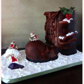 """Торт на Новый год """"Новогодние мышки"""""""