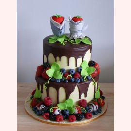"""Торт """"Ягодная свадьба"""""""