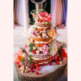 """Торт """"Цветочная идиллия"""""""