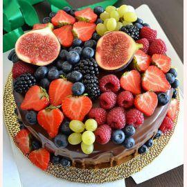 """Торт """"Ароматные ягоды"""""""