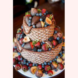 "Торт ""Корзина с ягодами"""