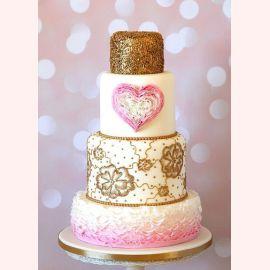 """Торт для влюбленных """"Сердечный торт"""""""