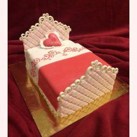 """Торт для влюбленных """"Любовное ложе"""""""