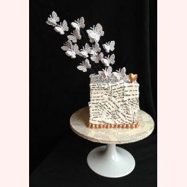 """Торт для влюбленных """"Любовные письма"""""""