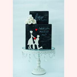 """Торт для влюбленных """"Will you Marry Me?"""""""