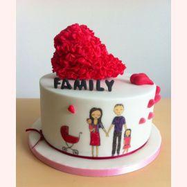 """Торт для влюбленных """"Семейная любовь"""""""