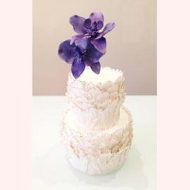 """Торт """"Фиолетовая орхидея"""""""