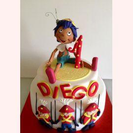 """Торт """"Пинокио и солдатики"""""""