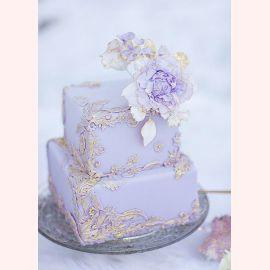 """Торт """"Сиреневая нежность"""""""