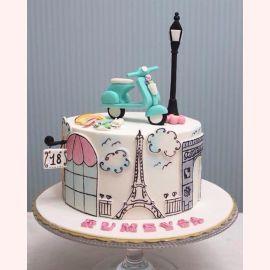 """Торт """"Утро в Париже"""""""