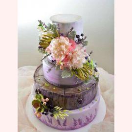 """Торт """"Цветущие розовые пионы"""""""