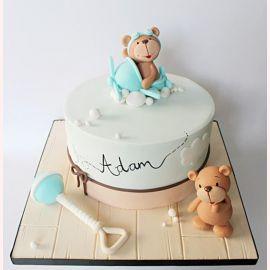 """Торт """"Милые медвежата"""""""