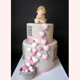 """Торт """"Сладкие сердечки"""""""
