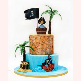 "Торт ""Маленький пират"""
