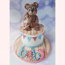 "Торт ""Плюшевый бурый медвежонок"""