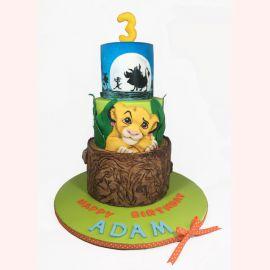"""Торт """"Маленький король Лев"""""""