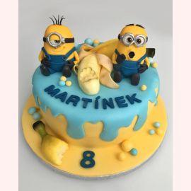 """Торт """"Миньоны и сладкий банан"""""""