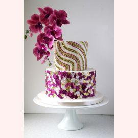 "Торт ""Шикарная веточка орхидеи"""