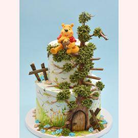 """Торт """"Винни Пух на дереве"""""""